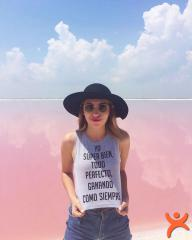 Doğal Olarak Pembe Olan Bu Gölcük Instagram'in Yeni Favorilerinden