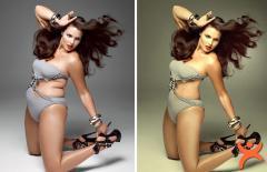 Ünlülerin Photoshop Sonrası İnanılmaz Değişimleri!